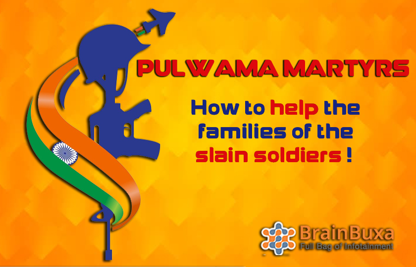 Pulwama martyrs: How to help the families of the slain soldiers !